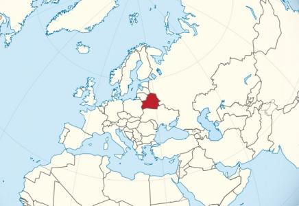 Беларусь на статистической карте мира